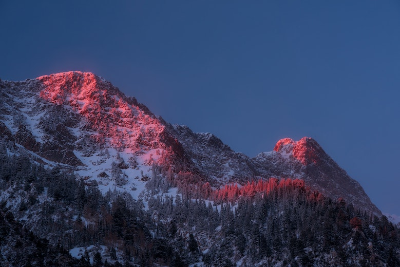 Glowing-Little-Cottonwood-Canyon