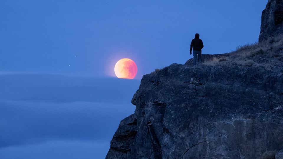 Recent Work - Eye on the Moon