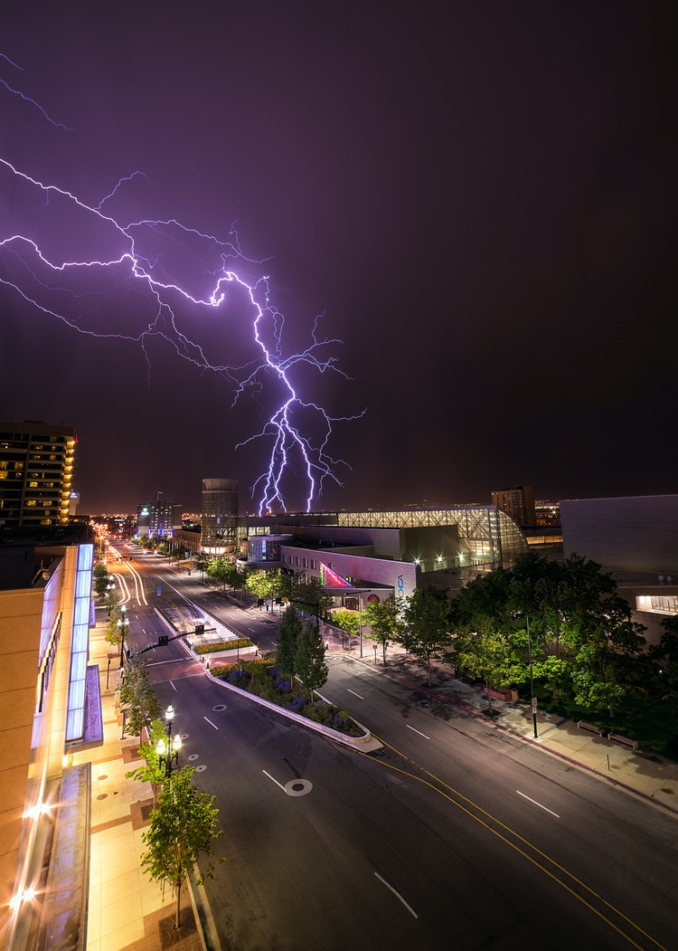 Lightning-Over-Downtown-Salt-Lake-City