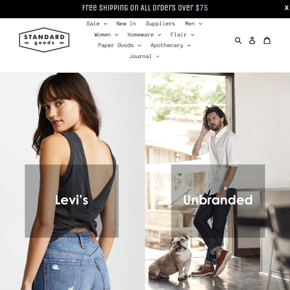 Shopify: Standard Goods