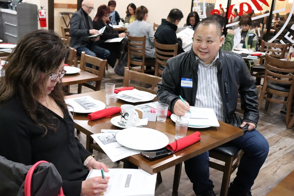 The Filipino Chamber of Commerce: Winter Quarter Social Networking Event