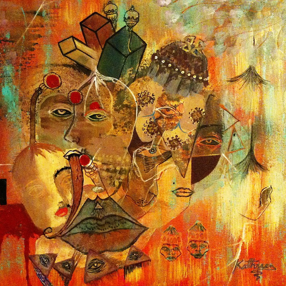 Oil and Mixed Media Paintings