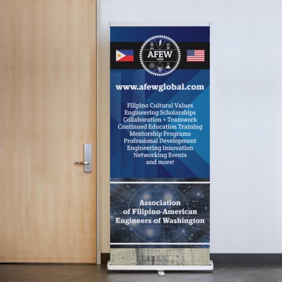 Association of Filipino American Engineers of Washington Event Booth