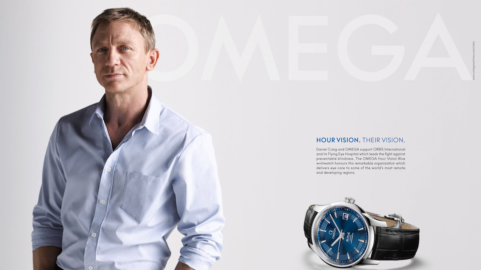 OMEGA WATCHES. HOUR VISION.