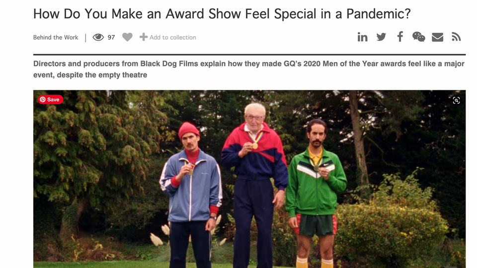How do you make an award show feel special in a pandemic?