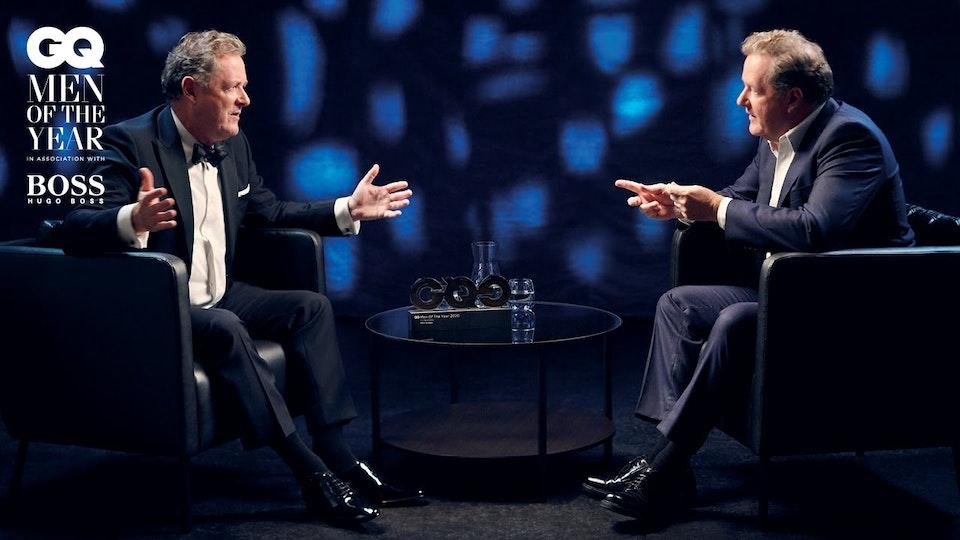 Piers Morgan interviews Piers Morgan | GQ Men Of The Year