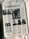 GQ Men of the Year 2020 Jan/Feb issue