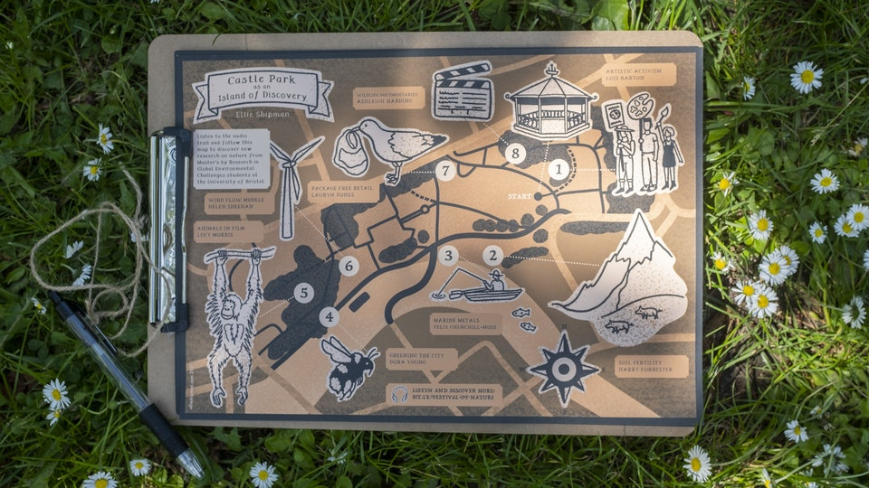 Festival of Nature Map and Podcast - Cabot  Institute
