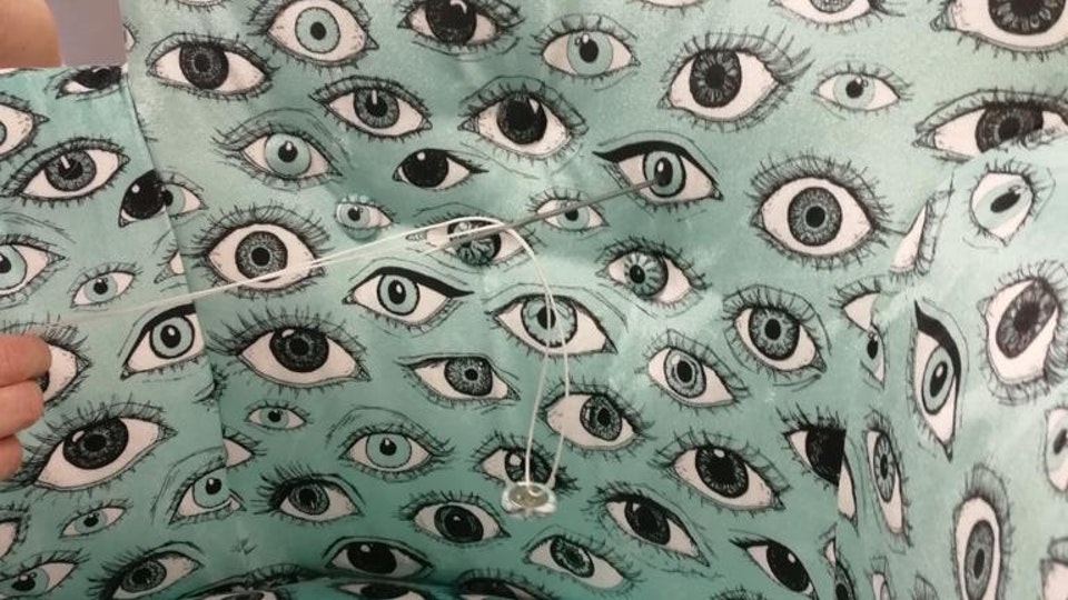 Eye fabric on BBC's Money for Nothing