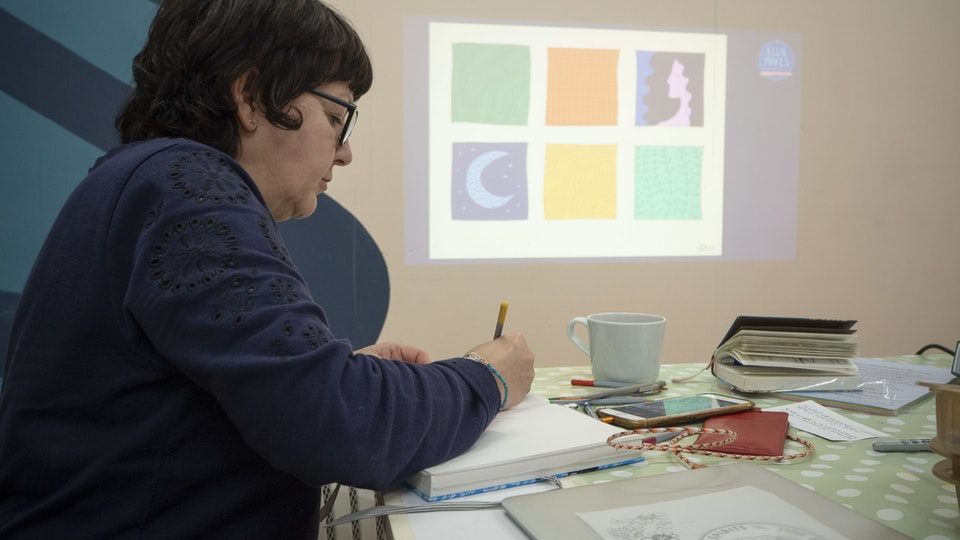 Illustrated Textiles - 6 week course