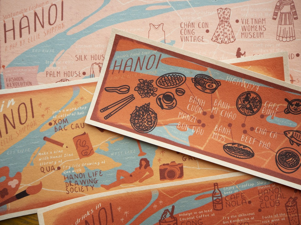 Hanoi Maps