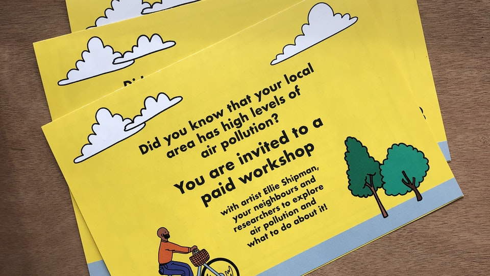 Air Pollution Illustrated Workshops for the University of Bristol