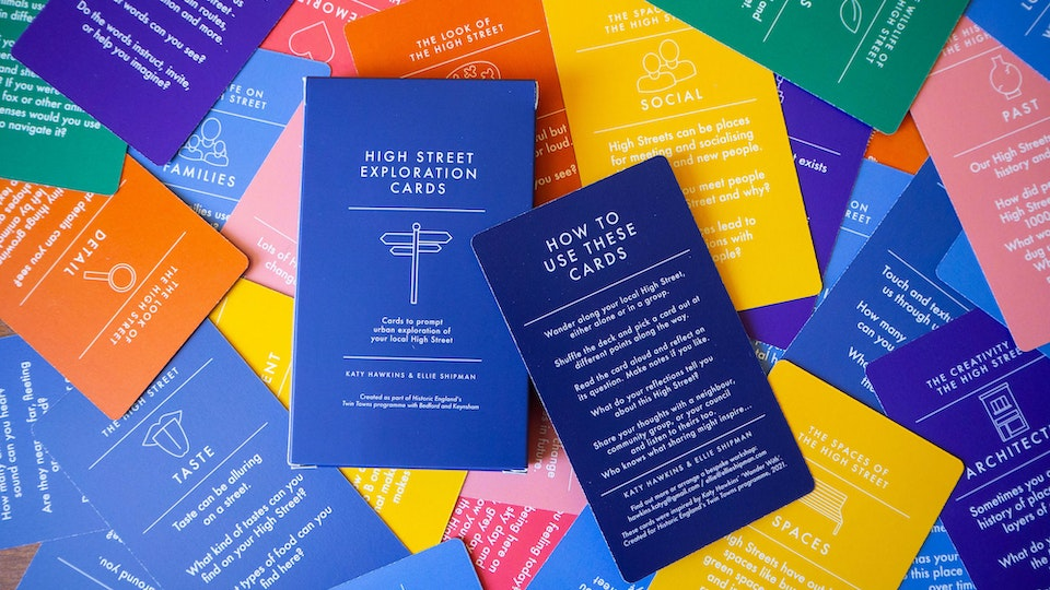 High Street Exploration Cards for Historic England
