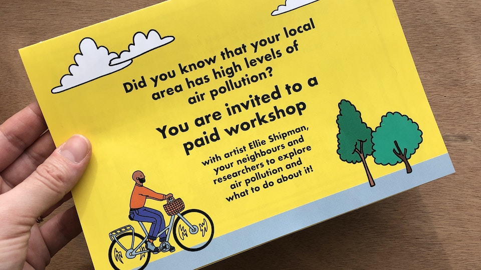 Create to Collaborate: Air Pollution Workshops