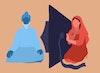 Illustrations for journalist Sian Norris