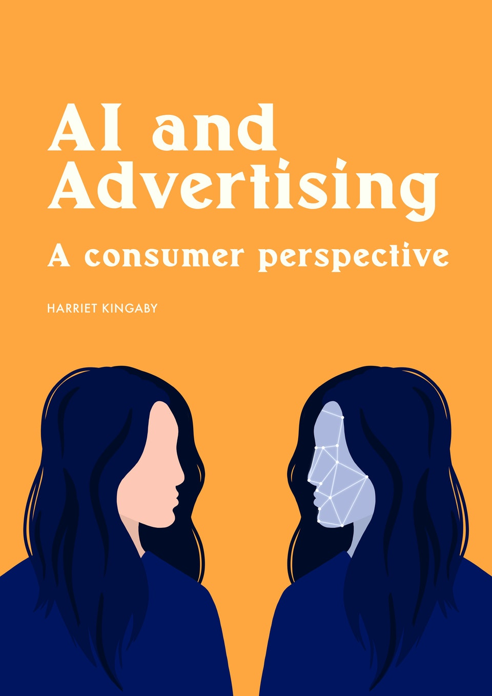 AI & Advertising - Editorial Illustrations