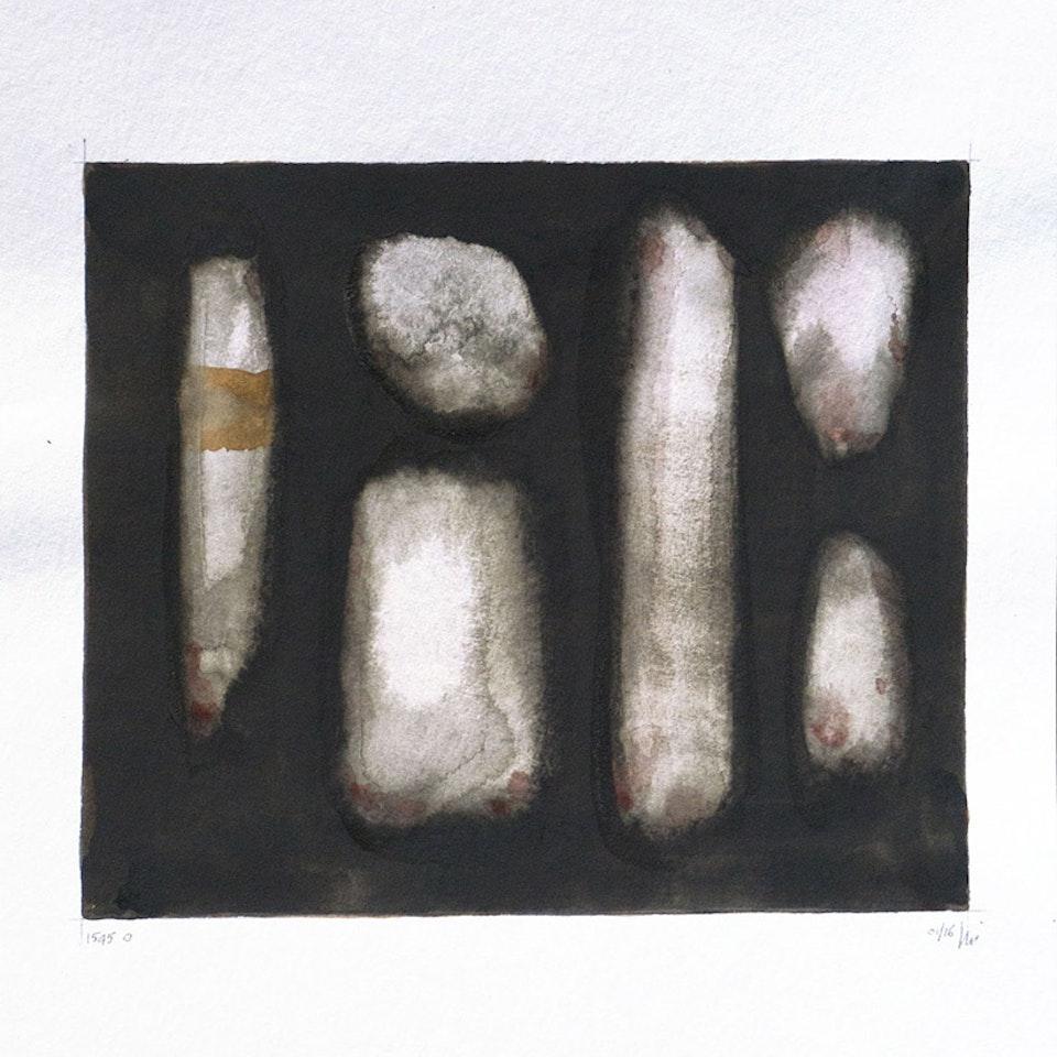 1545 Black Alphabet