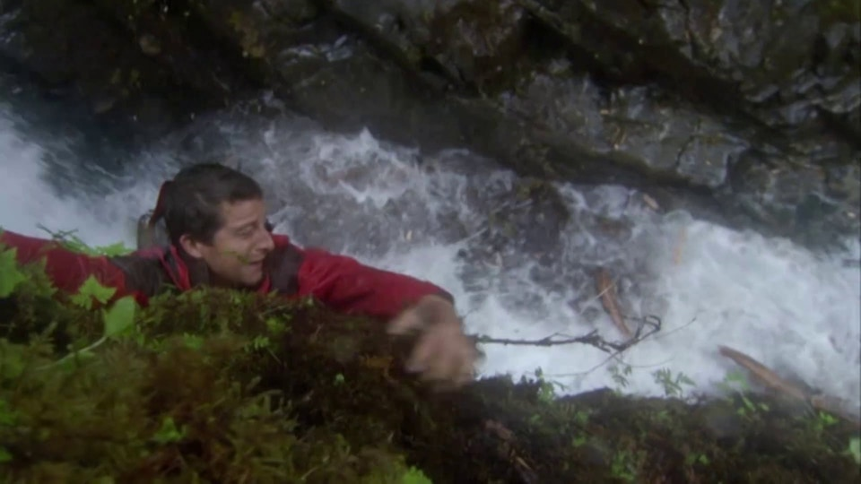 Man V Wild Alaska Scene