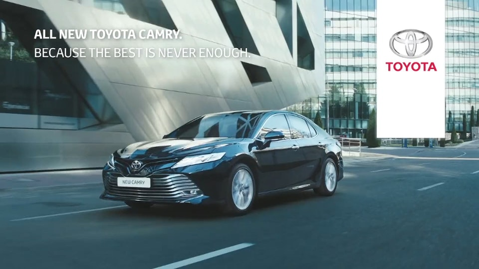 """Toyota Camry """"Never Enough"""""""