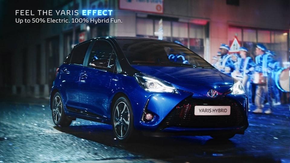 "Toyota Yaris Hybrid ""The Yaris Effect"" DC"