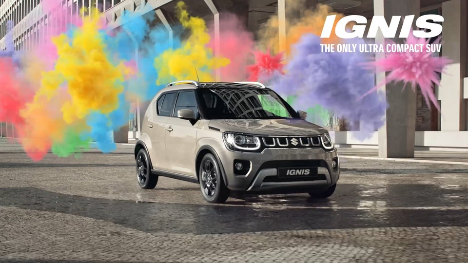 "Suzuki IGNIS ""Turn it up"""