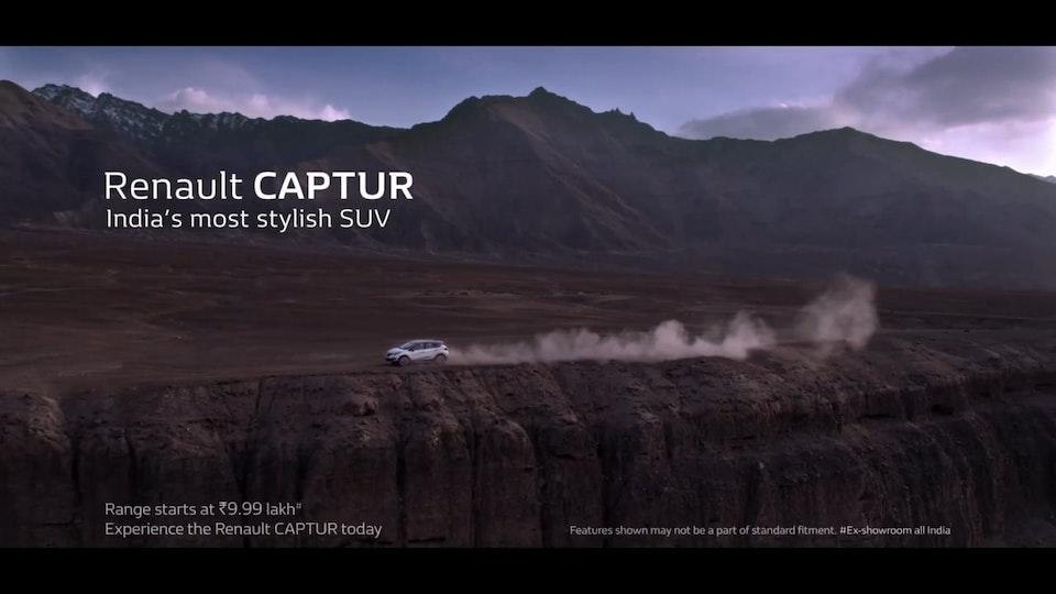 """Renault Capture """"Ranbir Kapoor"""""""