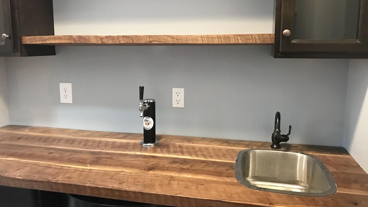 Wet bars, Wine Coolers, Kegerators