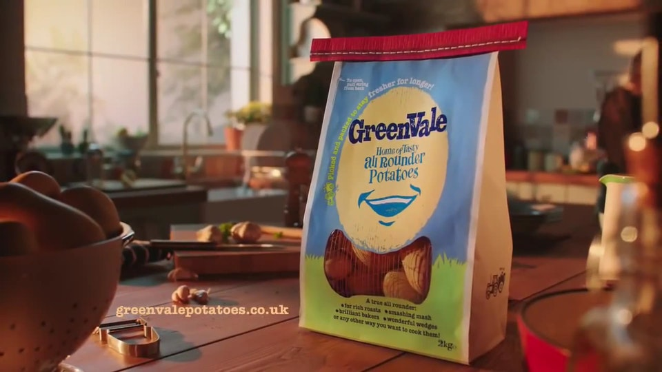 Potatoes that speak for themselves - GreenVale Potatoes TVC