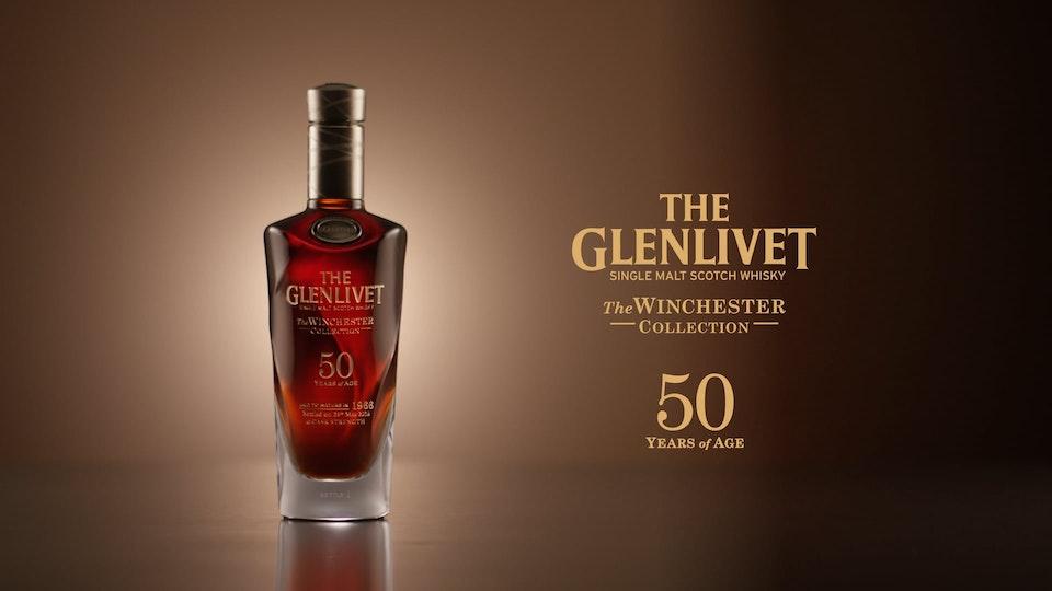Glenlivet 50yr Bottle