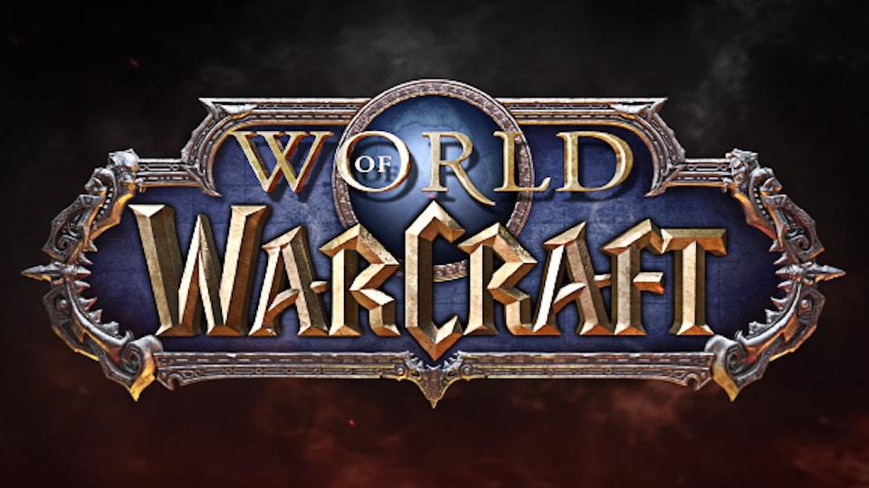 WORLD OF WARCRAFT REVEAL LOGO ANIMATION