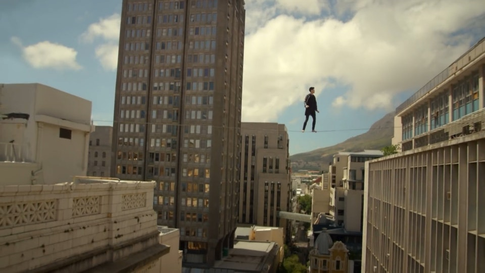 Ash Lockmun - The Script 'Man On A Wire' // directed by Frank Borin