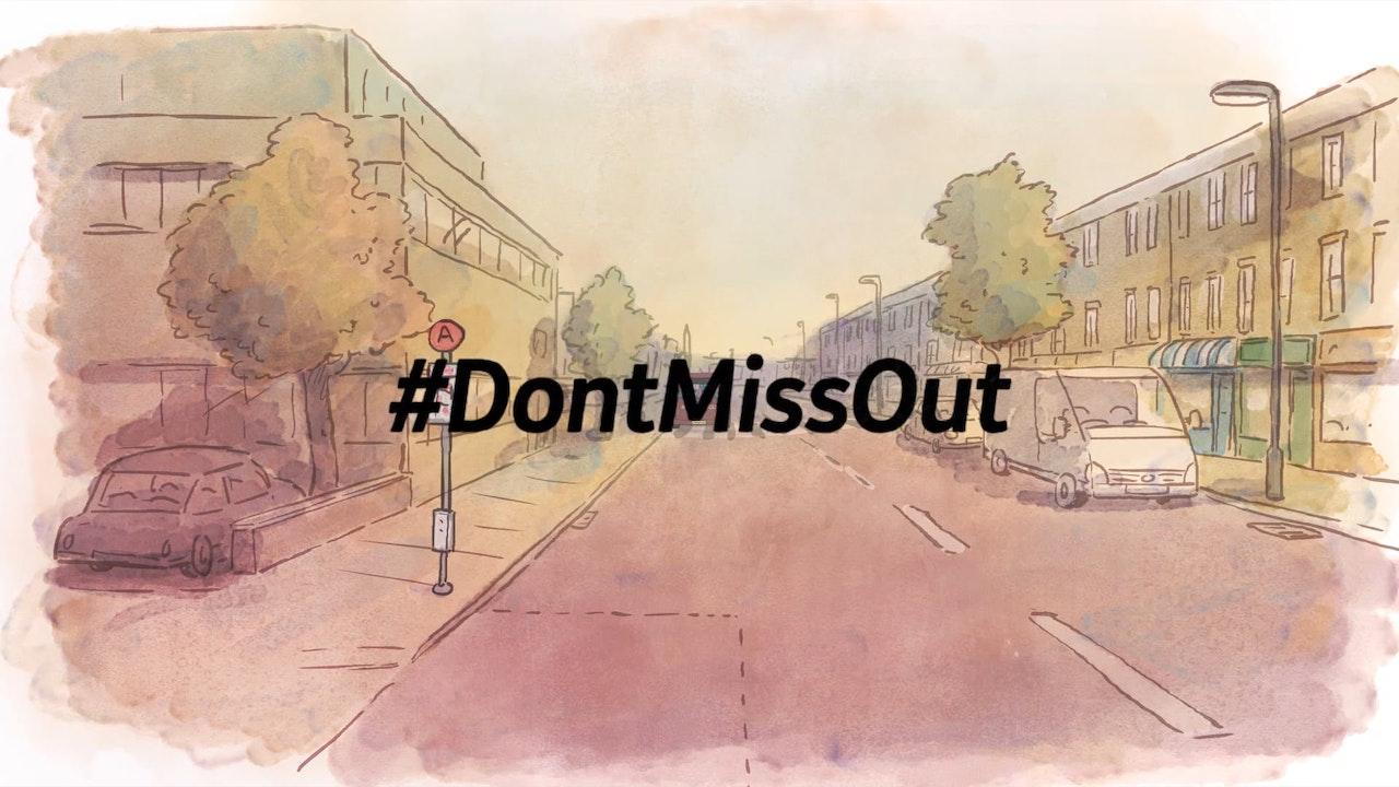 """Mencap """"Don't Miss Out"""""""