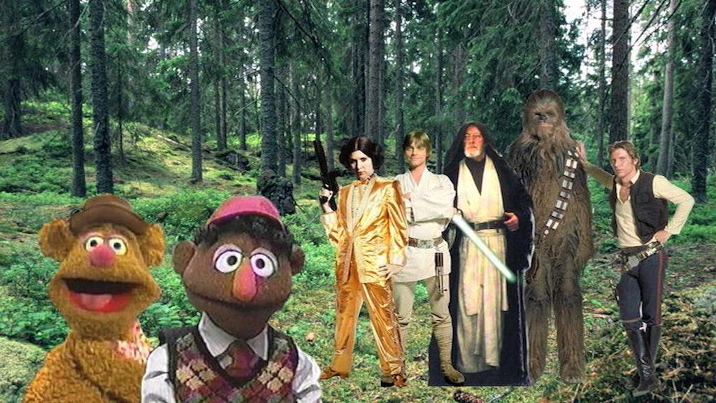 Star Wars Retold (by someone who hasn't seen it)