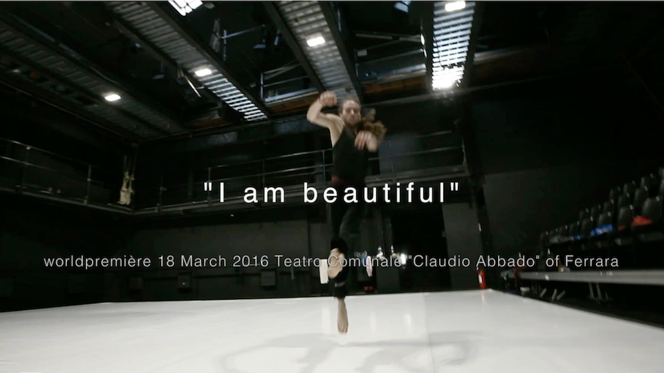 I AM BEAUTIFUL | COMPAGNIA ZAPPALÀ - REHEARSING - 2016