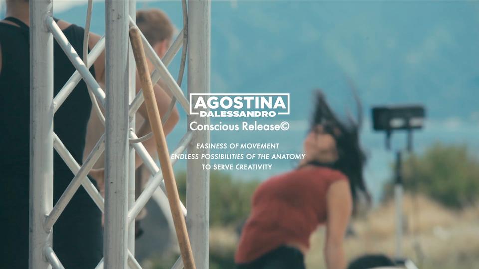 AGOSTINA D'ALESSANDRO   CONSCIOUS RELEASE©