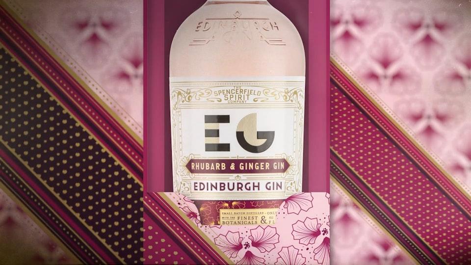 Edinburgh Gin / Valentines Bouquet