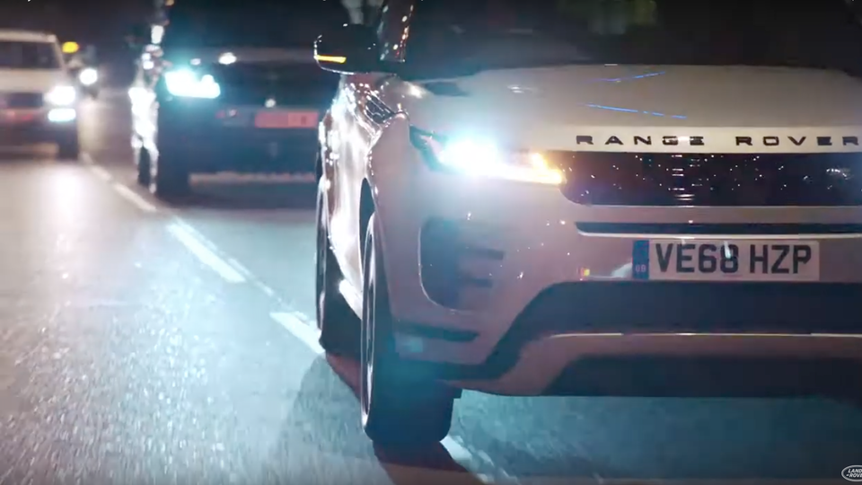 RANGE ROVER Evoque - 'Live For The City'