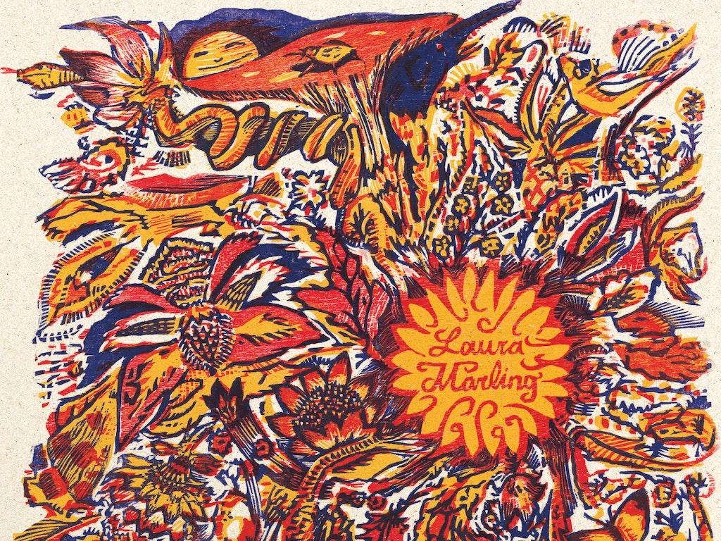 Laura Marling 'Alas I Cannot Swim' Artwork