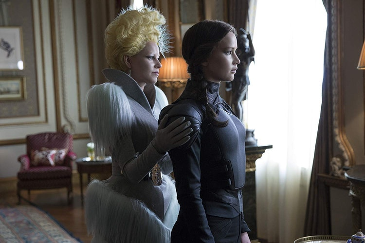 THE HUNGER GAMES : Mockingjay - Part 1