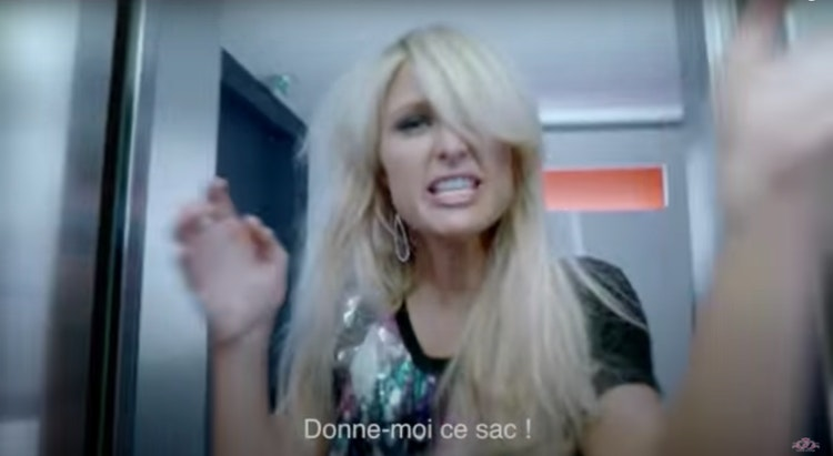 "BE MAGAZINE ""PARIS HILTON"" (2010)"
