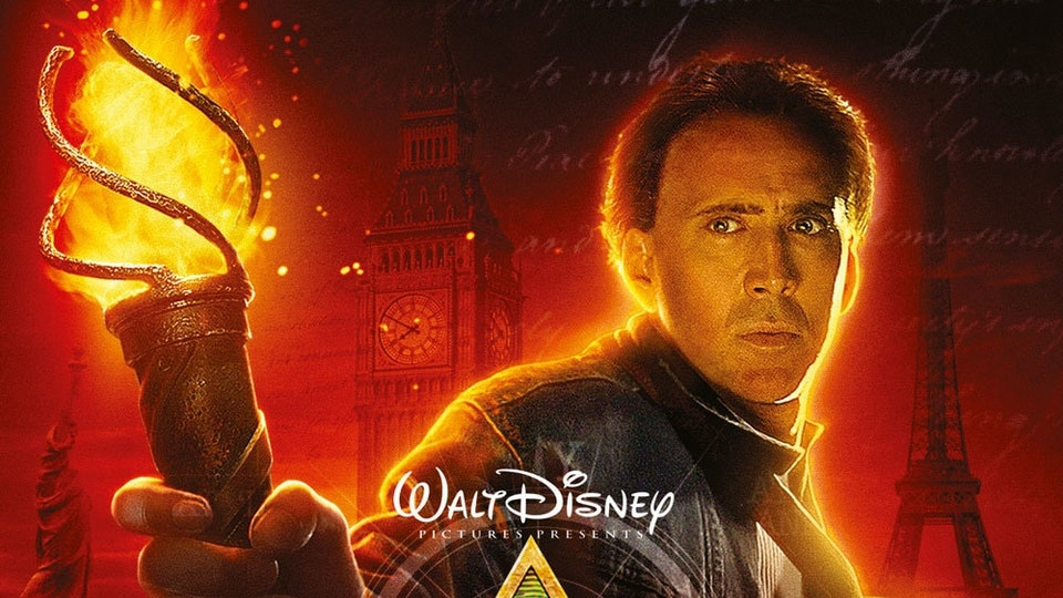 NATIONAL TREASURE 2 : BOOK OF SECRETS (2007)