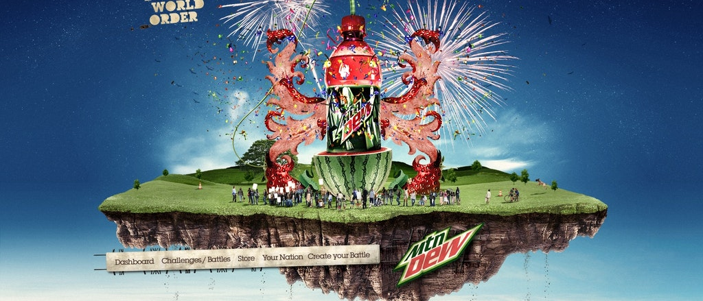Mountain Dew - Dew World Order