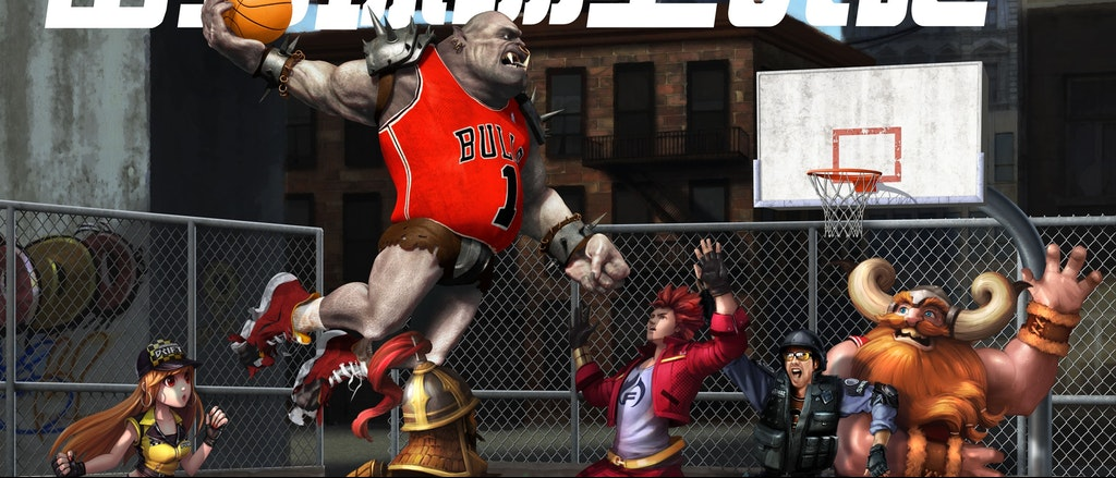 NBA2K 中国 - The Official Game of the Gaming World