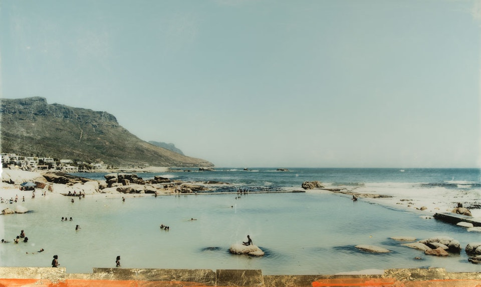 CHRISTINE FLYNN - CAMPS BAY POOL  (sold)