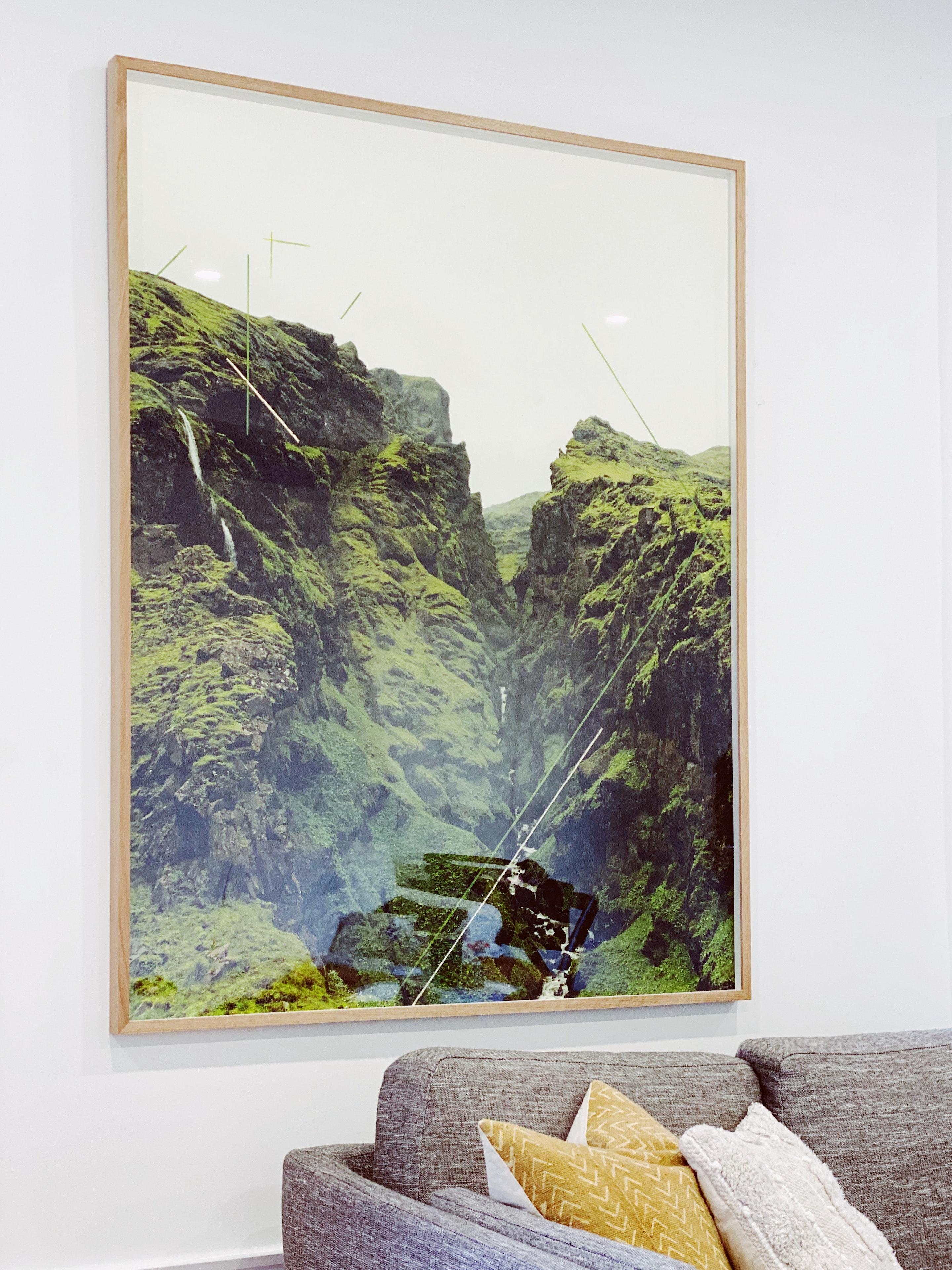 CHRISTINE FLYNN - mountaingorge_framed