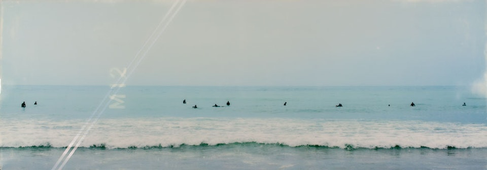 CHRISTINE FLYNN - MALIBU SURFERS (sold)