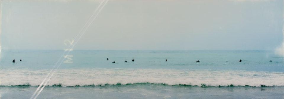 CHRISTINE FLYNN - MALIBU SURFERS (sold)