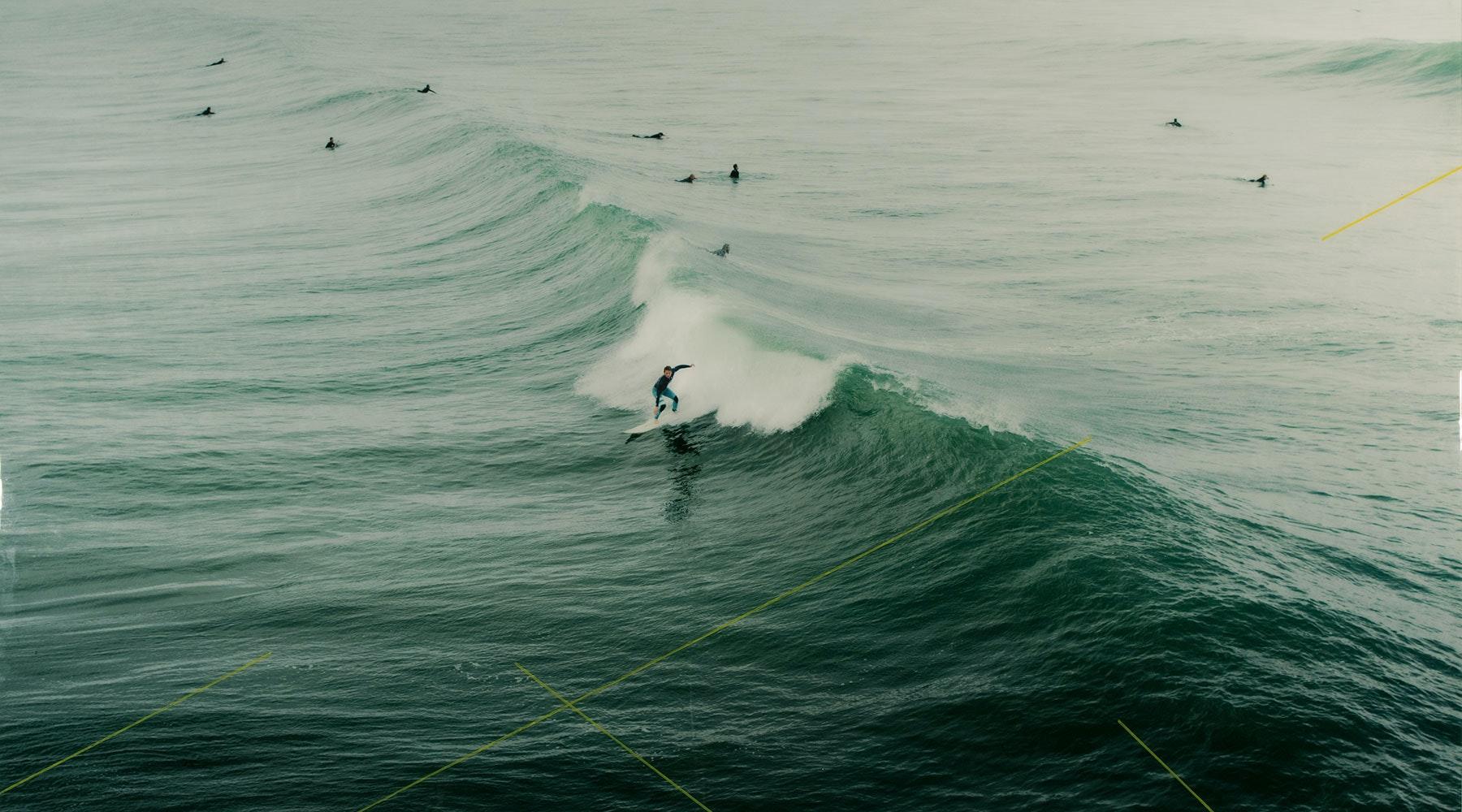 CHRISTINE FLYNN - CALIFORNIA SURFER
