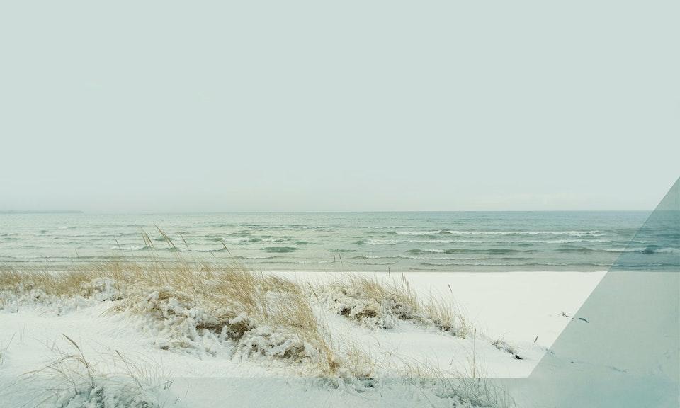CHRISTINE FLYNN - WINTER SANDBANKS  (sold)