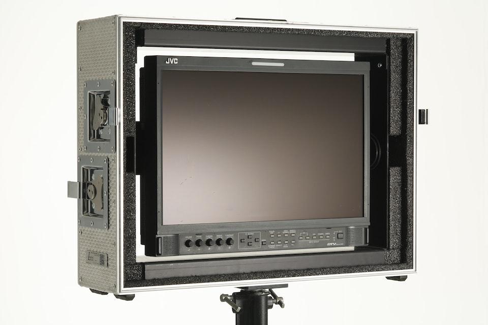 "17"" JVC HD monitor"